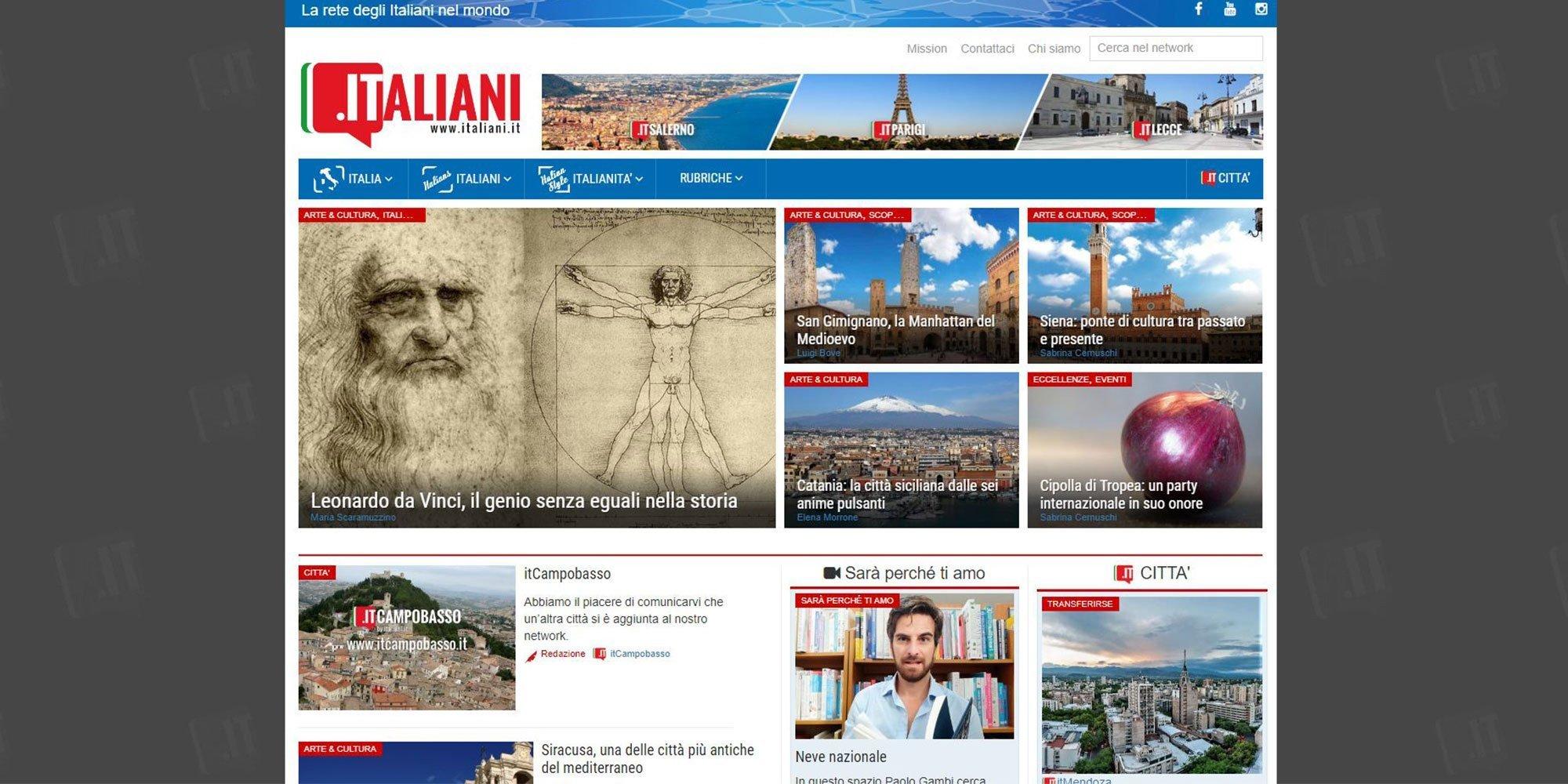 Portfolio Clienti | Collaborazione con Italiani.it per la SEO