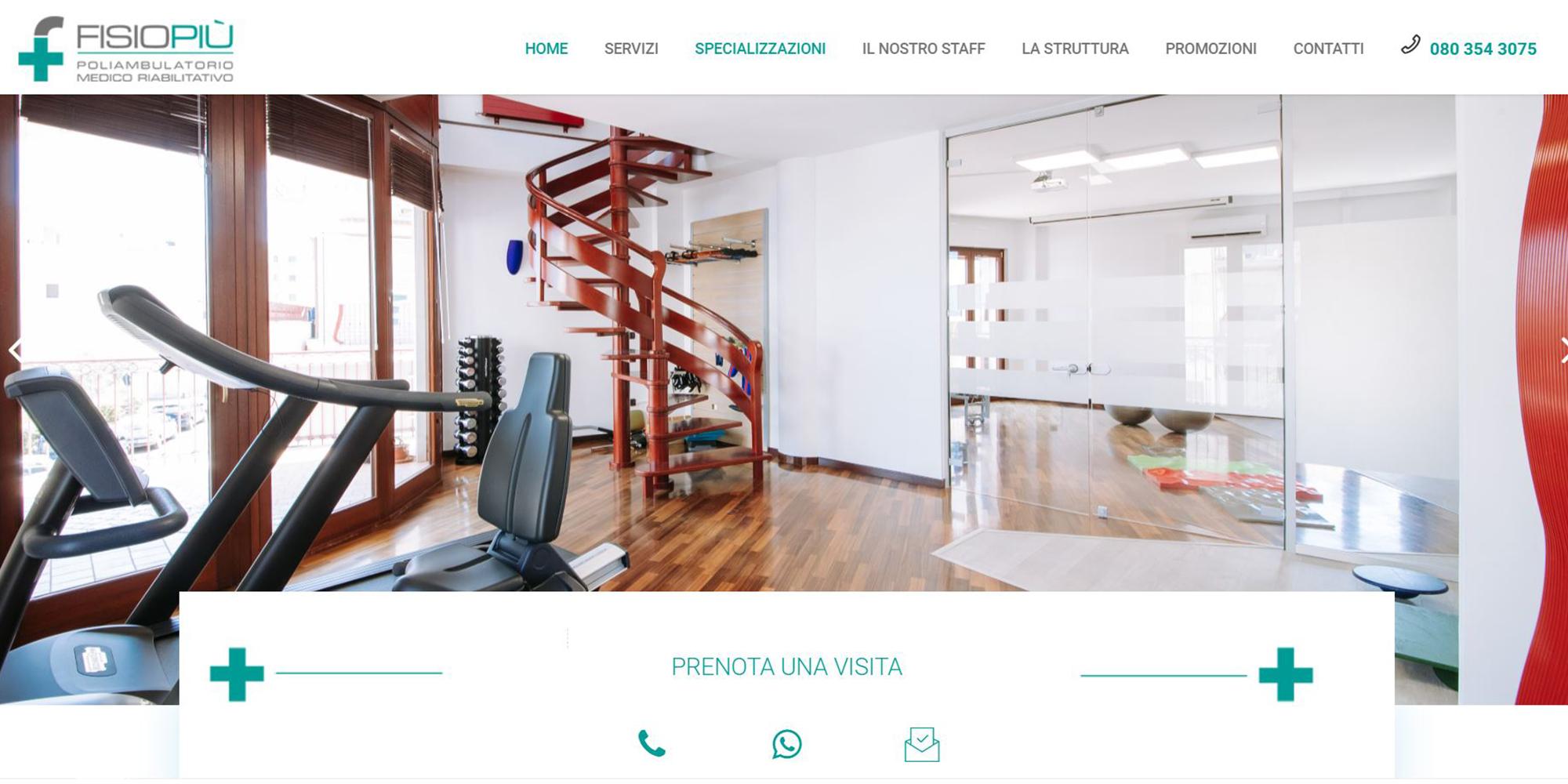 portfolio clienti - Fisio più